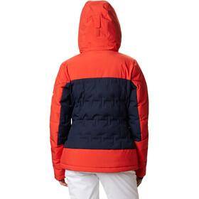 Columbia Fast Trek Printed Jacke Damen dark nocturnal/bold orange